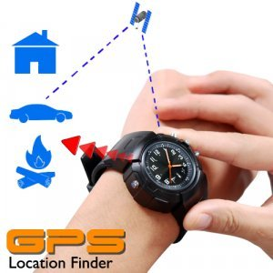 GPS Watch (Location Finder + Data Logger + Photo Tagger) New