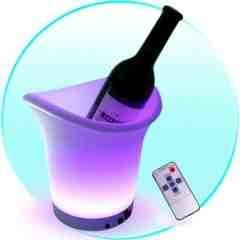LED Color Changing Ice Bucket New