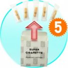 Cigarette Refill Pack w/5 Cartridges (for CVSBP-5800) x 5 New