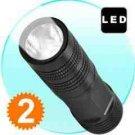 FlashMax G178 - CREE LED Pocket Flashlight (76 mm)  x 2 New