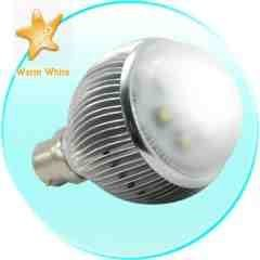 LED Light Bulb - 6 Watt Warm White with Bayonet Base New