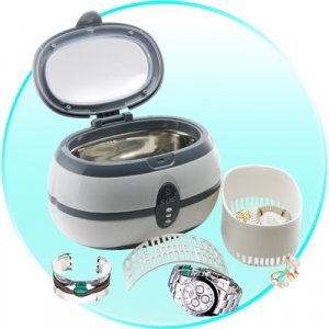 Ultrasonic Jewelry + Watch Cleaner (EU - Edition) New