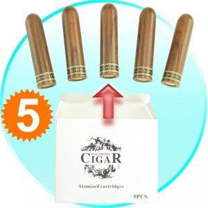 Refill Pack with 5 Cartridges for - CVJV-H17 007 eCigar New