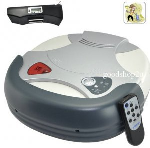 Clever Robot Vacuum Cleaner with Virtual Wall + Charging Station New