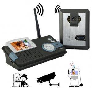 Wireless Audio Visual Intercom System New