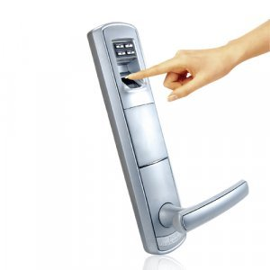 Biometric Guardian - Fingerprint Security Door Lock New