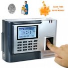Fingerprint Time Attendance and Door System (Silver) New