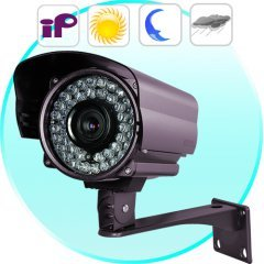 Outdoor IP Camera with Sony CCD (Motion Detection, Night Vision) New