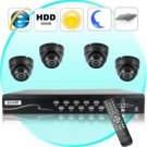 Security Camera DVR Kit (4 Surveillance Camera + Recorder Set D) New