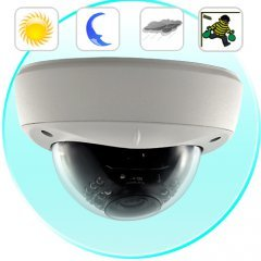 Security Camera (Sony Interline CCD, Night Vision, Vandalproof) New