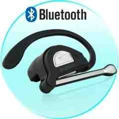 Bluetooth Wireless Headset - Ultra Comfort Earpiece New