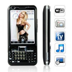 Cloud 9 Quadband 3 Inch Touchscreen Dual SIM WiFi Mobile - Black New