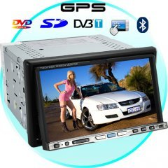 Road Master 7 Inch Touchscreen Car DVD Player with GPS + DVB-T New