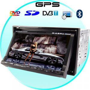 Magic Maker Car DVD Player + GPS Navigation System and DVB-T New