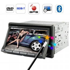 Carnaval 7 Inch Touchscreen Car DVD Player with GPS and ISDB-T New