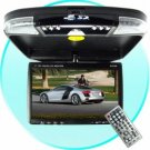 Car Roof Mounted Multimedia DVD System with 9 Inch LCD Monitor New