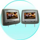 Car Headrest (PAIR) Entertainment Center with DVD + Multi Media New