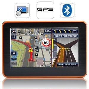 Adventurist - 4.3 Inch Touchscreen Portable GPS Navigator New