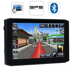 OfficeNAV - 5.0 Inch Touchscreen Portable GPS Navigator New