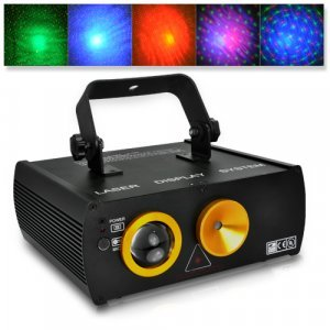 Double Laser DMX Projector (Sound Activated, Cloud Background) New
