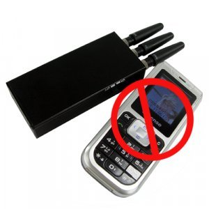 Broad Spectrum Cell Phone Jammer New