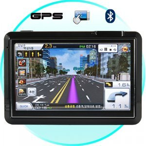 GuideStar - 4.3 Inch Touchscreen Portable GPS Navigator New