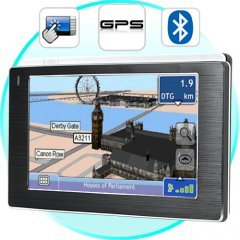 Media Star - 4.3 Inch Touchscreen GPS Navigator w/ Media Player New