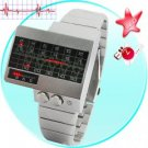 Alpha Centauri - All Metal Red LED Watch New