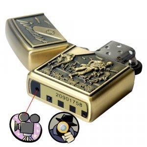 Spy DVR Lighter (4GB Army Edition) New