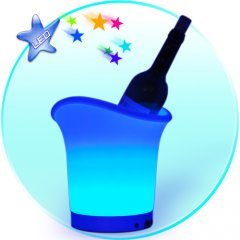Multi Color LED Ice Bucket New