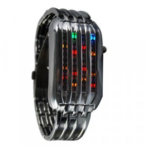 The Cylon - Japanese Multicolor LED Watch New