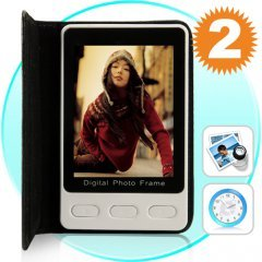 Digital Photo Frame (2.4 Inch Pocket-Size) New