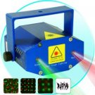 Mini Green and Red Laser Effects Projector with Sound Activation New