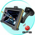 5 Inch Touch Screen GPS Navigator w/FM Transmitter (Retro Ed.) New