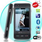 Shark - Quadband Dual SIM WiFi Cellphone w/ 3.2 Inch Touchscreen