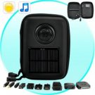 Solar Battery Charger with Speaker (Cell Phone, iPod, PSP, more) × 4