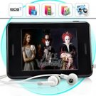 Media Whiz - MP6 Player with 3.5 Inch Touchscreen + ISDB-T