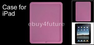 New Premium Pink Silicone Skin Case Back Cover Protector for Apple iPad Wifi 3G 16GB 32GB 64GB