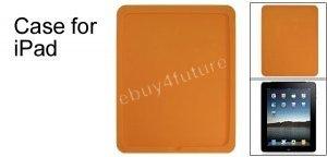 New Premium Orange Silicone Skin Case Back Cover Protector for Apple iPad Wifi 3G 16GB 32GB 64GB