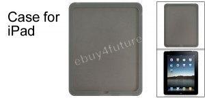 New Premium Smoke Gray Silicone Skin Case Back Cover Protector for Apple iPad Wifi 3G 16GB 32GB 64GB