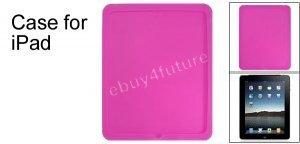 New Premium Peach Silicone Skin Case Back Cover Protector for Apple iPad Wifi 3G 16GB 32GB 64GB