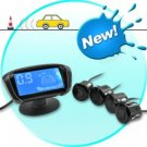 Rear View Parking Sensor (Complete DIY Kit, Deluxe Display)