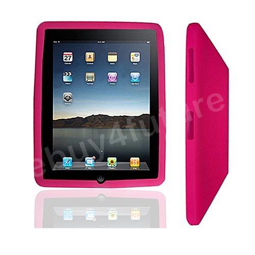 New Classic Peach Silicone Skin Case Back Cover Protector for Apple iPad Wifi 3G 16GB 32GB 64GB