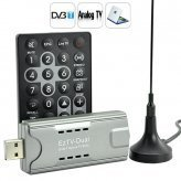 Analog TV and Digital TV USB Dongle - TV on Your PC