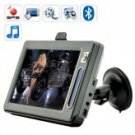 BattleStar 7 Inch touchscreen GPS Navigator with Bluetooth new