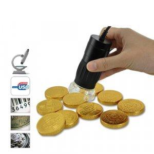 2.0 Megapixel USB Digital Microscope (200x, 8 LEDs)