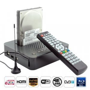 Full 1080P HD Media Center and SATA HDD Docking Station