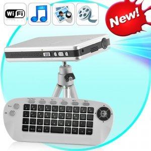 Mini Projector with Wifi + Wireless Remote