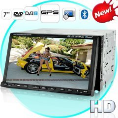 Road Tiger T2 High-Def Touchscreen GPS Car DVD Player w/ DVB-T