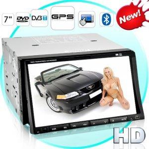 Street Wolf High-Def Touchscreen Car DVD Player (GPS + DVB-T)